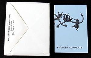 Figbash acrobate. [By] Aedwyrd Goré. Signed: Gorey, Edward