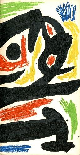 Peintres-graveurs contemporains 1970. With original lithograph cover: Miró, Joan. Berggruen,