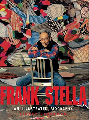 Frank Stella: an illustrated biography. SIGNED by the artist