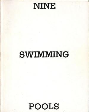 Nine swimming pools and a broken glass.: Ruscha, Edward