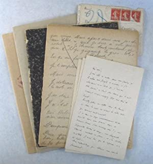 Manuscript lot by and to Valentine (Gross) Hugo. SALE PRICE through 31 December 2019