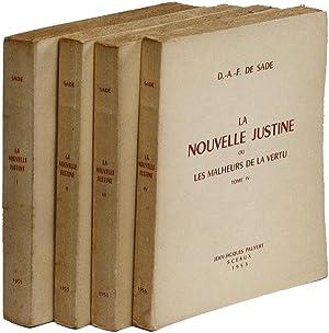 La Nouvelle Justine; ou, Les malheurs de la vertu: Sade, D.A.F. [marquis] de