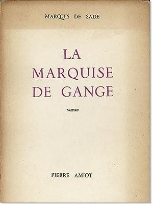 La Marquise de Gange: roman. Texte conforme à l'édition unique de 1813. ...