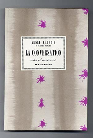 La Conversation: Notes et Maximes