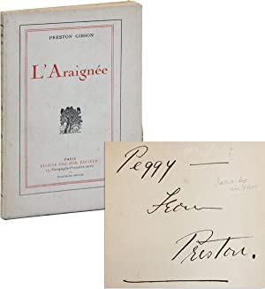 L'Araignée [Limited Edition, Inscribed and Signed]