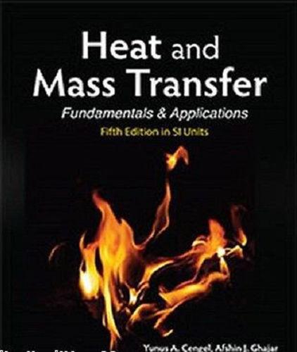 International Edition Heat And Mass Transfer Fundamentals And