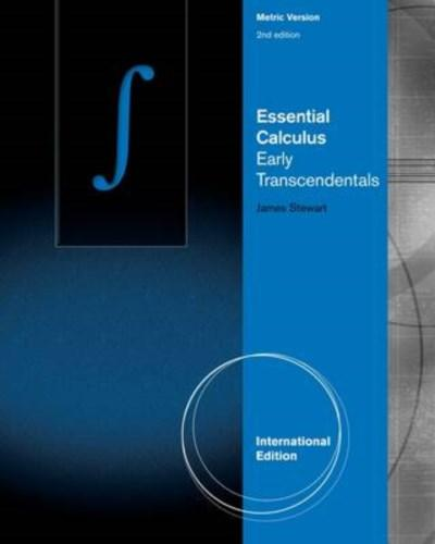 James stewart essential Calculus Early transcendentals solutions