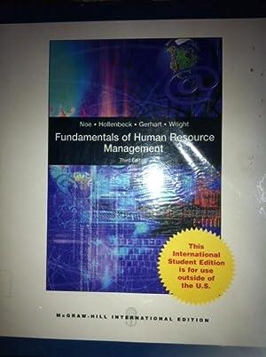 INTERNATIONAL EDITION---Fundamentals of Human Resource Management, 3rd: Barry Gerhart, John