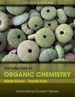 INTERNATIONAL EDITION---Introduction to Organic Chemistry, 4th edition: William H. Brown
