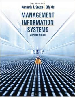 ACCESS CODE FOR EBOOK---Management Information Systems, 7th: Kenneth J. Sousa