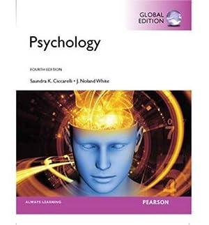 INTERNATIONAL EDITION---Psychology, 4th edition: Saundra K. Ciccarelli