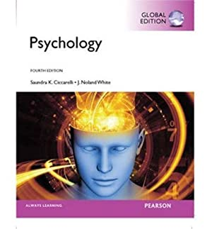 INTERNATIONAL EDITION---Psychology, 4th edition: Saundra K. Ciccarelli