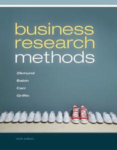 ACCESS CODE FOR EBOOK---Business Research Methods, 9th: Mitch Griffin, Babin,