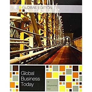 INTERNATIONAL EDITION---Global Business Today, 8th edition: Charles W. L.