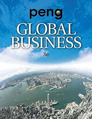 ACCESS CODE FOR EBOOK---Global Business, 3rd edition: Mike W. Peng