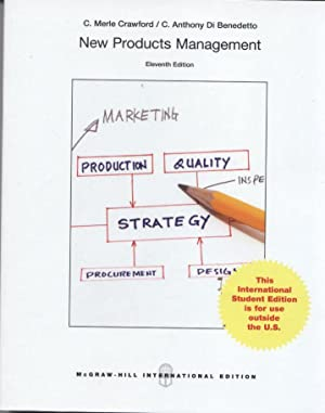 INTERNATIONAL EDITION---New Products Management, 11th edition: C. Merle Crawford