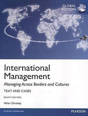 INTERNATIONAL EDITION---International Management: Managing Across Borders and: Helen Deresky