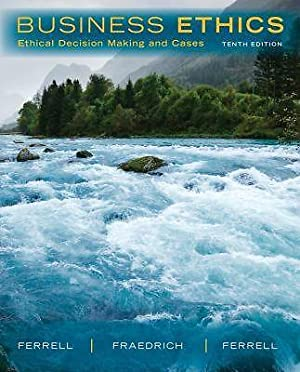 ACCESS CODE FOR EBOOK---Business Ethics: Ethical Decision: O. C. Ferrell