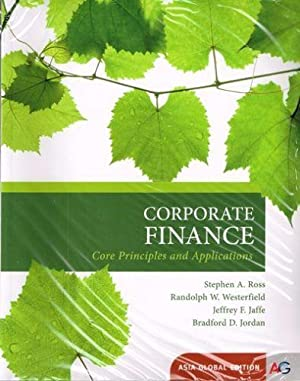 INTERNATIONAL EDITION---Corporate Finance: Core Principles and Applications,: Stephen Ross and