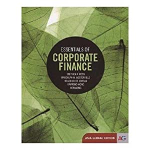 INTERNATIONAL EDITION---Essentials of Corporate Finance, 8th edition: Stephen Ross and