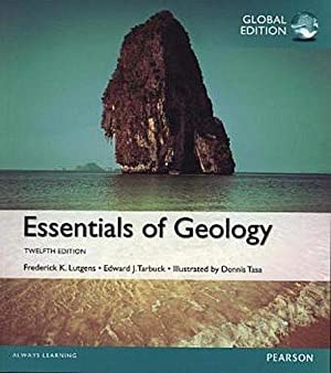 INTERNATIONAL EDITION---Essentials of Geology, 12th edition: Frederick K. Lutgens