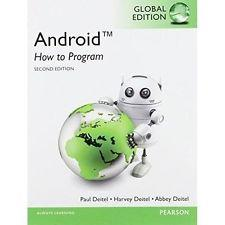 INTERNATIONAL EDITION---Android How to Program, 2nd edition: Paul Deitel and