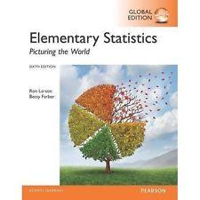 INTERNATIONAL EDITION---Elementary Statistics: Picturing the World, 6th: Ron Larson and