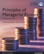INTERNATIONAL EDITION---Principles of Managerial Finance, 14th edition: Chad J. Zutter