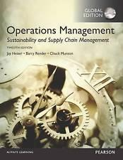 INTERNATIONAL EDITION---Operations Management: Sustainability and Supply Chain Management, 12th ...