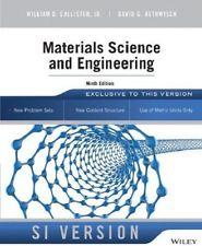INTERNATIONAL EDITION---Materials Science and Engineering : An: William D. Callister