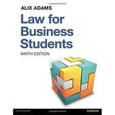 Law for Business Students, 9th edition: Alix Adams