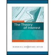 INTERNATIONAL EDITION---The Theory of Interest, 3rd edition: Stephen G. Kellison
