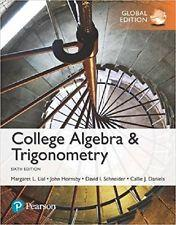 INTERNATIONAL EDITION---College Algebra and Trigonometry, 6th edition: Margaret L. Lial