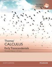 INTERNATIONAL EDITION---Thomas' Calculus: Early Transcendentals, 13th edition: George B. Thomas