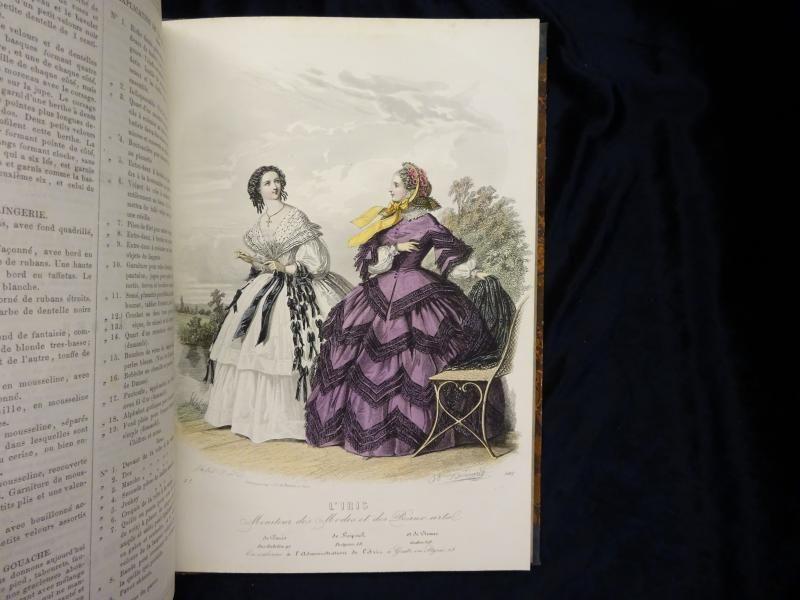 IRIS. Moniteur de Modes et de Beaux-Arts: Bonplan, Justine.