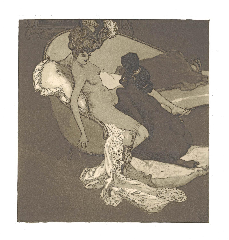 Die Bonbonnière. Galante und artige Sammlung erotischer: Choisy le Conin