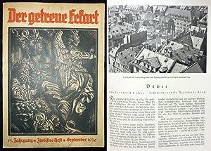 """Der getreue Eckart. (ab 1937 Untertitel """"Monatsschrift: Luser, Adolf (Hrsg.);"""