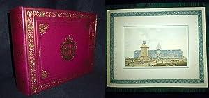 Monuments de Paris en 1810. Cinquante aquarelles: NICOLLE, Victor Jean.