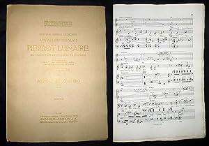 Dreimal sieben Gedichte aus Albert Girauds Pierrot: Schönberg, Arnold.