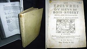 Les Epistres Dv Sieuvr De Bois-Robert-Metel, Abbe?: BOISROBERT, Francois LeMetel