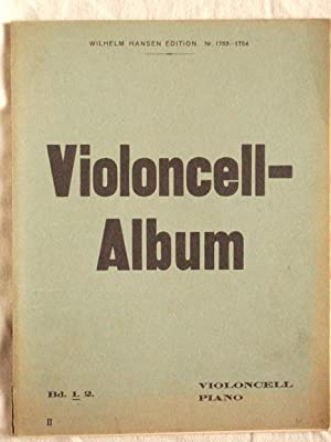 Violoncell-Album (Violoncell + Piano), Band 1.