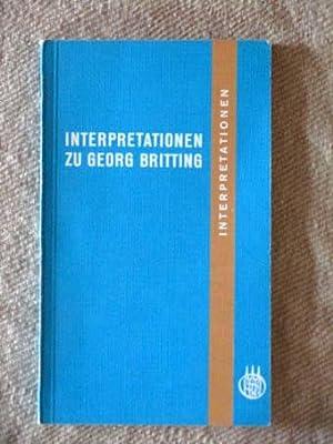 Didaktische Betrachtung eines Gedichts - Georg Brittings Fröhlicher Regen (German Edition)