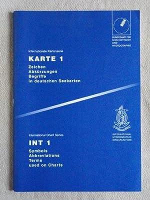 Internationale Kartenserie, Nr. 1. / International Chart: Bundesamt für Seeschiffahrt