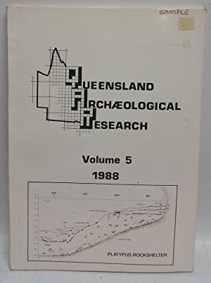 Queensland Archaeological Research Volume 5, 1988