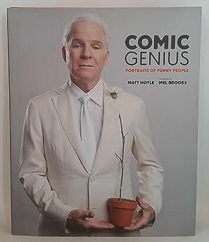 Comic Genius: Portraits of Funny People: Matt Hoyle