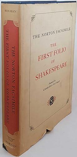 The Norton Facsimile: The First Folio of: Charlton Hinman; William