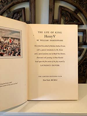 The Life of King Henry the Fifth (King Henry V) The Arden Text, Edited by Herbert Arthur Evans