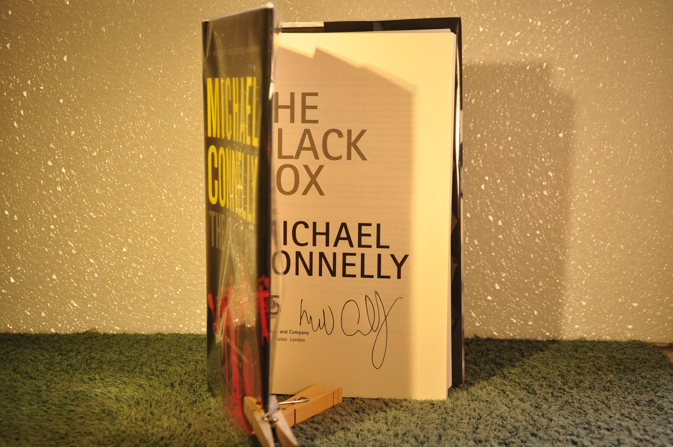 the black box connelly michael