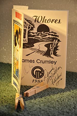 Whores **SIGNED**: Crumley, James 1939-2008