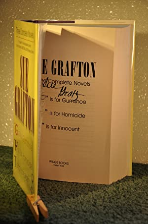 """G is for Gumshoe"""", """"H is for: Grafton, Sue"""